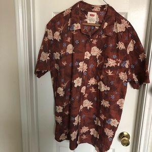 Other - Levi's men's Hawaiian shirt sz XL